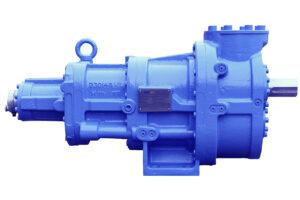 SRM-12 open type single stage screw compressor